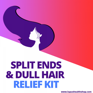 Thin, delicate Lupus hair breakage can finally be taken care of using natural ingredients. This therapeutic hair care kit is for the VIP experience!Buy now!