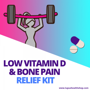 Strong Bones Lupus Kit has the most important nutrients that will stop your vitamin D deficiency and get rid of symptoms. Shop now and get a discount!