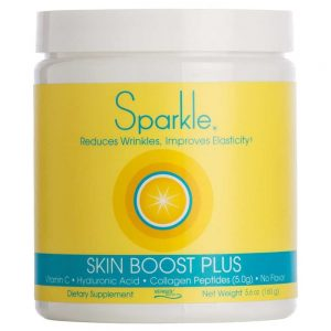 sparkle skin boost plus - collagen peptide for enhanced results to fight lupus antiaging and joint stiffness - Lupus Health Shop