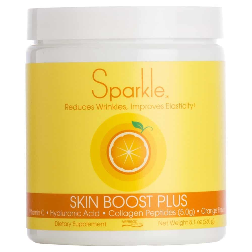 Sparkle Collagen Peptide Powder - Skin Boost Plus For Joint Stiffness & Anti-Aging Benefits