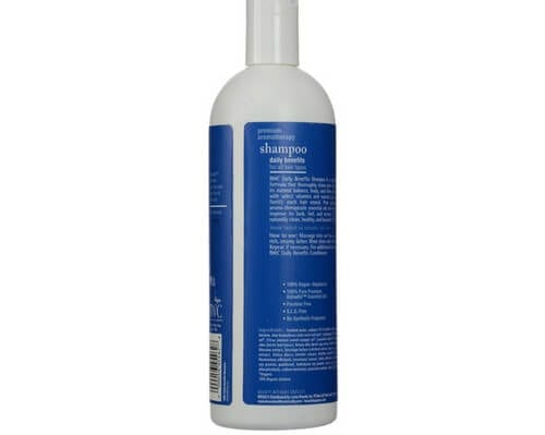 Beauty without cruelty -daily benefits shampoo right side - Lupus Health Shop