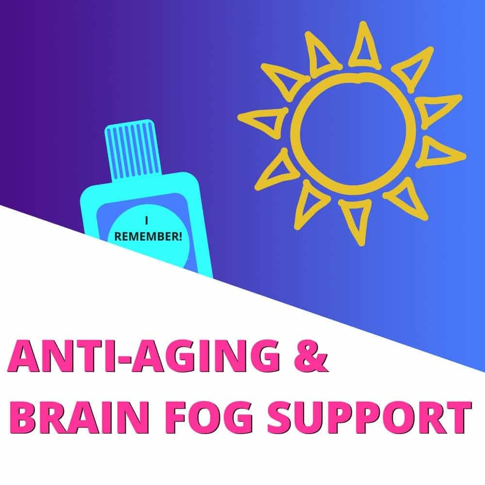 Anti-aging and brain fog Support Kit- Lupus Health Shop - Clean Ingredients