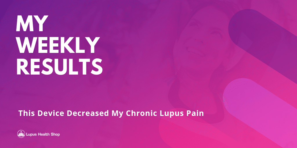 My Weekly Results - Blog Content Image - Lupus Health Shop