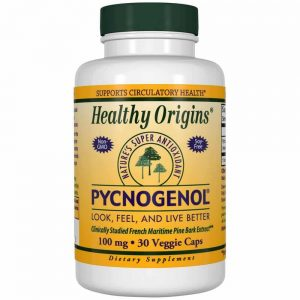 Healthy Origins Pycnogenol 30 cap 100mg For Chronic Inflammation Relief