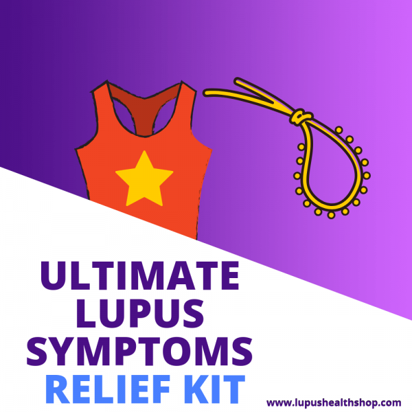 The Ultimate Lupus Relief Kit helps with reducing lupus symptoms and lupus flare ups!* Lupus health shop offers customized relief for lupus sufferers.