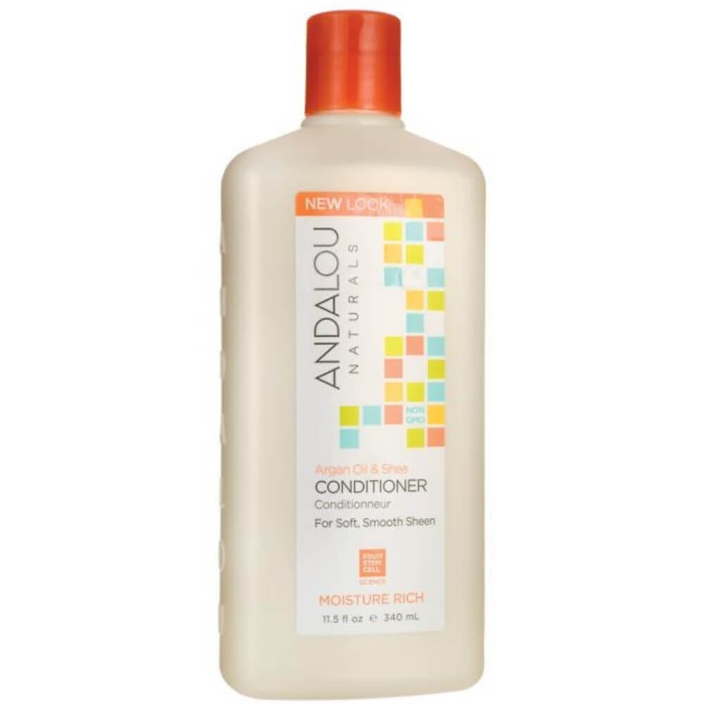 Andalou Argan and Shea Moisture Conditioner For Dry Hair
