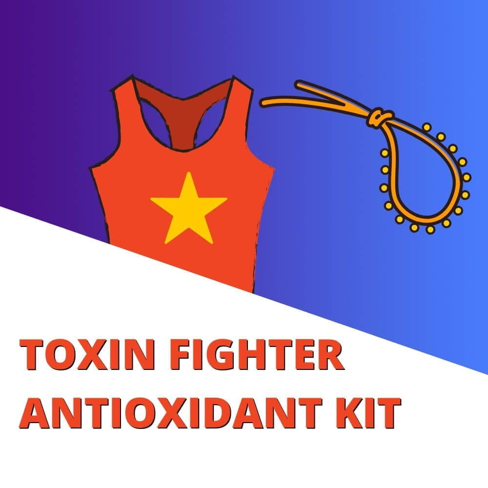 TOXIN FIGHTER ANTIOXIDANT KIT- Lupus Health Shop - Clean Ingredients For Lupus Warriors