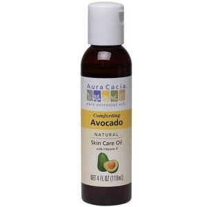 4 oz Aura Cacia Avocado Oil - Lupus Health Shop Front