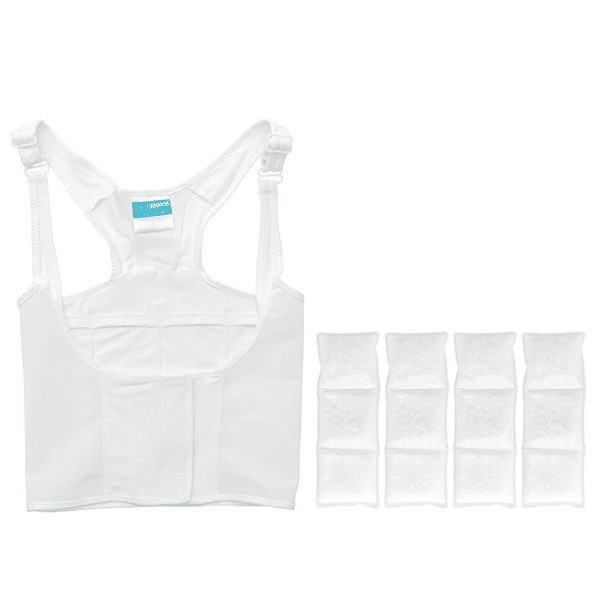 UnderCool Vest white 2 hour relief - Lupus sun stroke Relief - Lupus Health Shop
