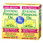 American Health Evening Primrose Oil 1300mg for Lupus Inflammation Relief BOGO 120c