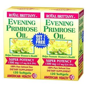 Evening Primrose oil for Lupus inflammation - Lupus Health Shop - front organic