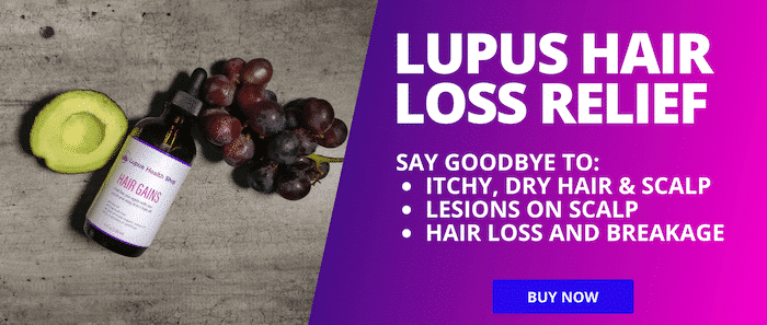Lupus hair loss relief HAIR GAINS - Ad - Lupus Health Shop