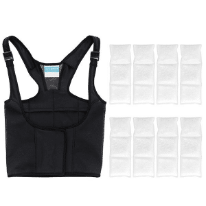UnderCool Vest black 4 hour pack - Lupus sun stroke Relief - Lupus Health Shop