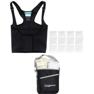 ThermApparel Vest and Cooling Storage Bag For Lupus Heat Sensitivity Relief
